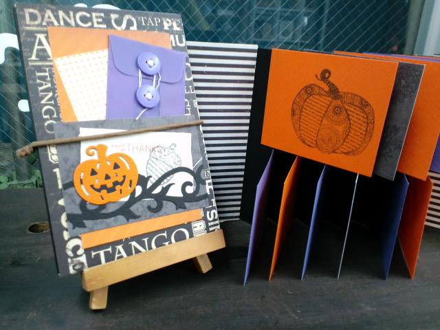 かぼちゃのレイヤーパンチ